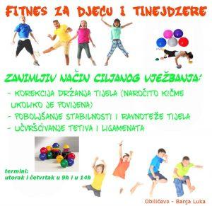 fitnes za djecu